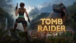 Tomb Raider 1996 Schutzumschlag Cover Revisited Art Brenoch Wallpaper Hintergrund