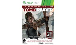 Tomb Raider Game of the Year jaquette 2