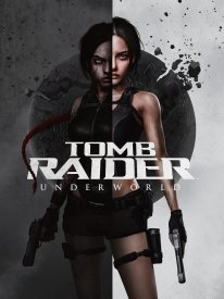 Tomb Raider Underworld key art revisited 25th Anniversary cover artwork Laura H Rubin 1