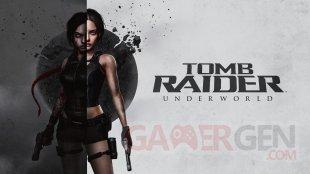 Tomb Raider Underworld key art revisited 25th Anniversary cover artwork Laura H Rubin fond écran wallpaper 4K