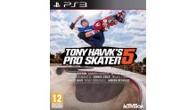 tony hawk's pro skater 5 jaquette PS3