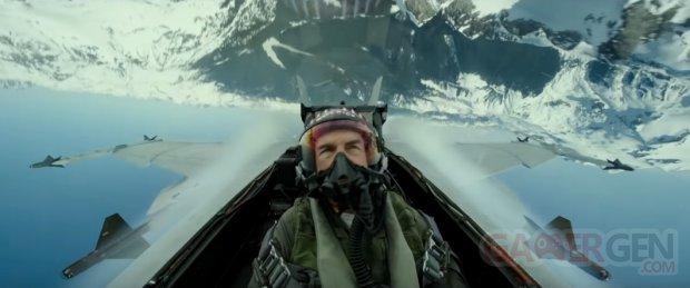 Top Gun Maverick head