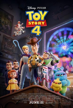 Toy Story 4 poster 19 03 2019