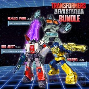Transformers Devastation bonus pre?commande