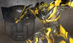 Transformers Rise of the Dark Spark head bumblebee