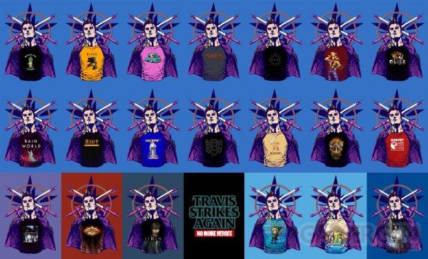 Travis Strikes Again No More Heroes indie shirt