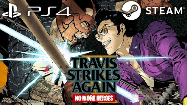 Travis Strikes Again No More Heroes pc ps4