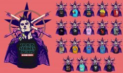 Travis Strikes Again No More Heroes t shirts