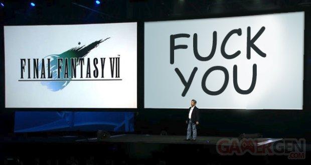 Troll Final Fantasy VII 7