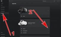 Trouver son numéro de série Oculus Quest 2 Oculus PC 01