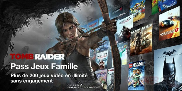 TV Orange Tomb Raider Square Enix image