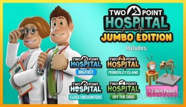 Two Point Hospital JUMBO Edition