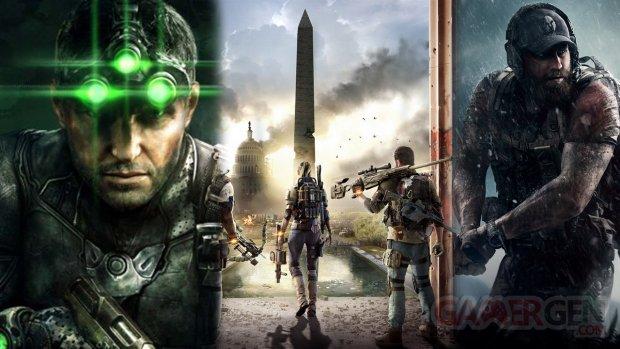 Ubisoft BattleCat Division Ghost Recon Splinter Cell