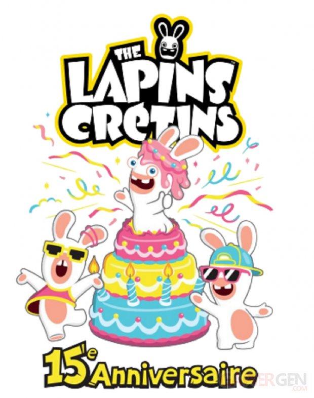 Ubisoft Les Lapins Crétins 15 ans