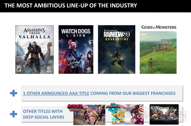Ubisoft line up 14 05 2020