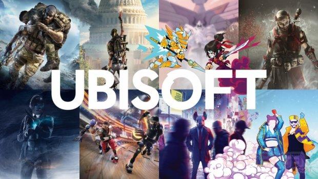 Ubisoft logo head banner 2019