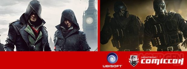ubisoft montreal comiccon ban image conference assassin creed syndicate rainbow six siege