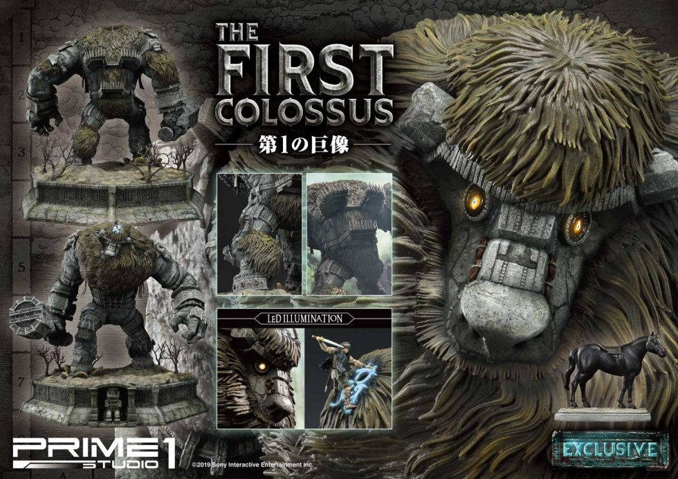 Ultimate Diorama Masterline Shadow of the Colossus The First Colossus EX Version Valus Prime 1 Studio (1)