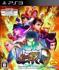 Ultra Street Sighter IV ps3 jaquette jap