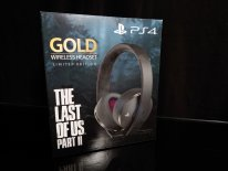 UNBOXING Casque PS4 sans fil Gold The Last of Us Part II Limited Edition   21