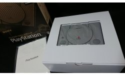 Unboxing deballage PlayStation Classic PS console machine images (9)