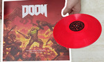 unboxing doom bande originale doubles vinyles rouges deballee video