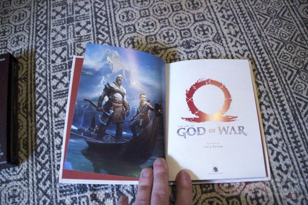 UNBOXING GamerGen Clint008 God of War Limited Edition Steelbook Artwork Figurine Kratos Totaku (13)