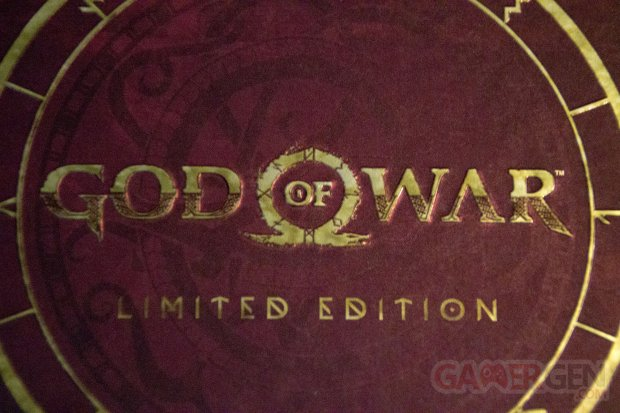 UNBOXING GamerGen Clint008 God of War Limited Edition Steelbook Artwork Figurine Kratos Totaku (1)