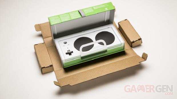 Unboxing Manette Adaptive Xbox