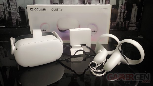 Unboxing Oculus Quest 2 facebook 21