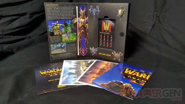 Unboxing Warcraft III Reforged Kit Presse 007