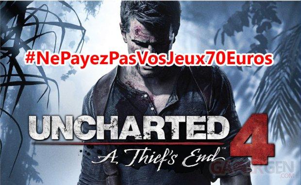 uncharted 4 ne payez pas vos jeux 70 euros