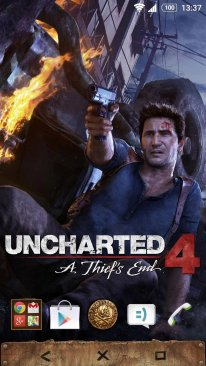 Uncharted 4 theme Sony Xperia (5)