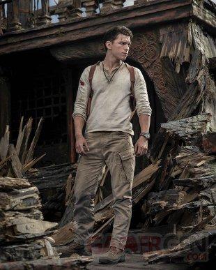 Uncharted movie film cinéma photo tournage Tom Holland Nathan Drake