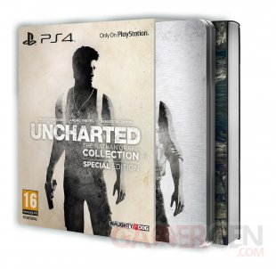 Uncharted Nathan Drake's Collection 03 08 2015 édition spéciale 1