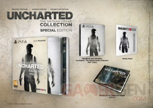 Uncharted Nathan Drake's Collection 03 08 2015 édition spéciale 2