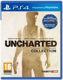 Uncharted The Nathan Drake Collection jaquette ps4
