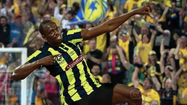 Usain Bolt Central Mariners