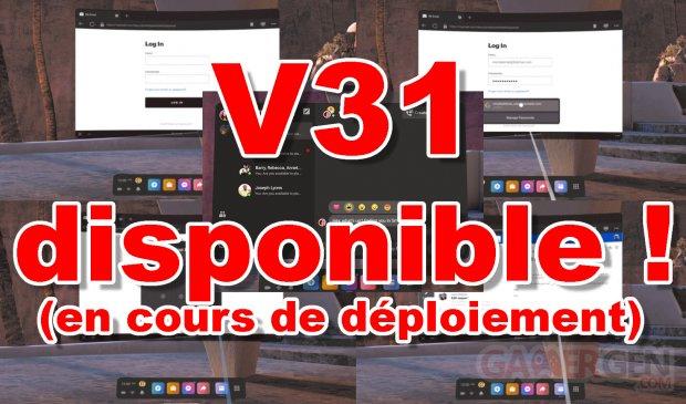 V31 Disponible Oculus Quest 1 2