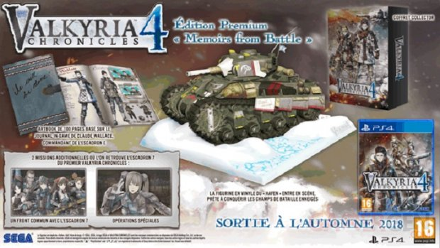 Valkyria Chronicles 4 Memoirs from Battle