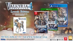 Valyria Chronicles 4 launch edition 1
