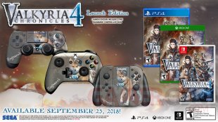 Valyria Chronicles 4 launch edition 2