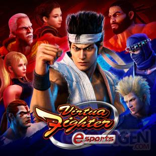 Virtua Fighter eSports 21 04 2021 logo