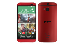 visuel HTC One 2014 M8 Rouge Glamour