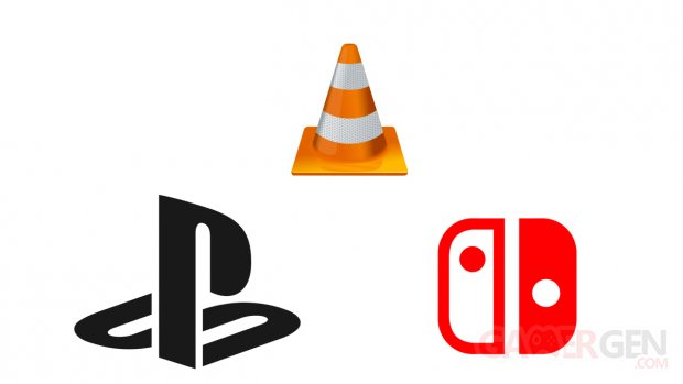 VLC Logo PlayStation Switch