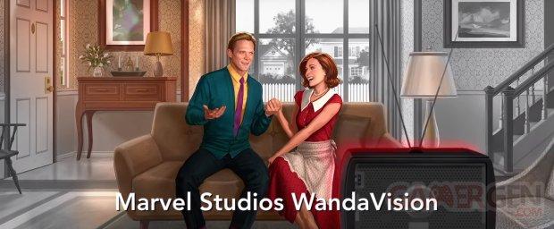 WandaVision art head