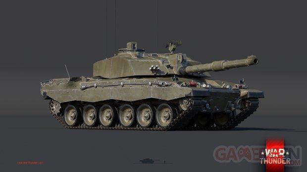 War Thunder challenger 2 2560x1440 logo