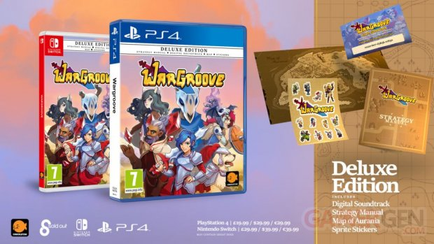Wargroove physique 15 08 2019