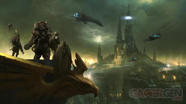 Warhammer 40 000 Darktide key art