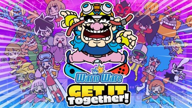 WarioWare Get It Together 15 06 2021 key art